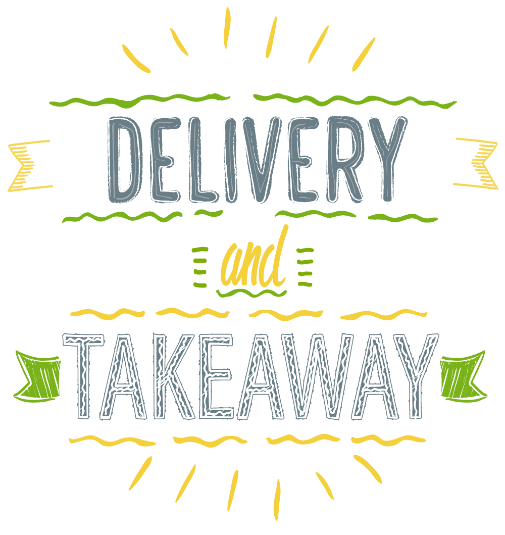 Delivery and Takeaway now available